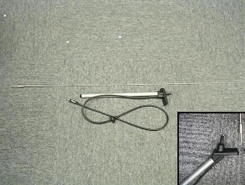 1988-97 ダットサン D21 US純正アンテナ 後期 角度付き