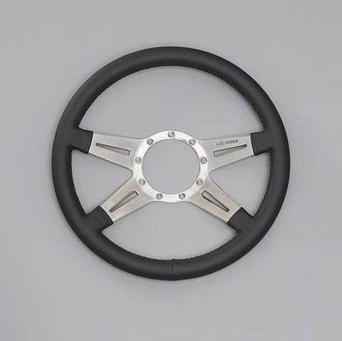 USA LECARRA レカラ ステアリングホイール MARK9 14inc ダークグレー