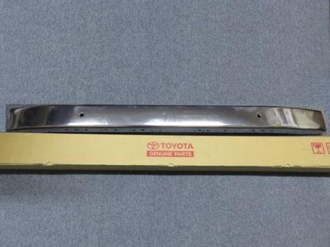 1973-1984 ランクル FJ40 US純正フロント クロームバンパー後期用
