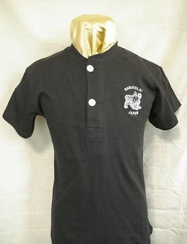 "【HAMATOLA!】Classic Henley Neck T-Shirts""BERSERKER"""