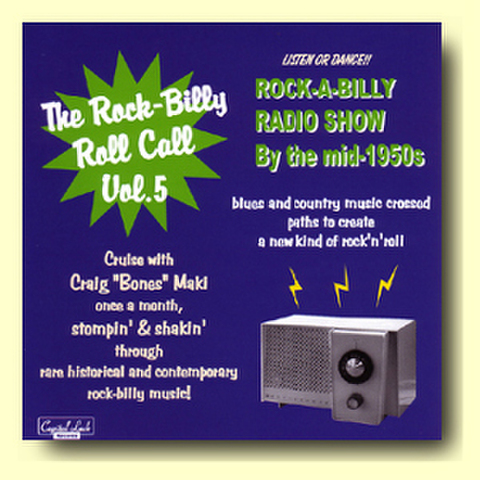 【THE ROCK-BILLY ROLL CALL VOL.5】CDR V.A