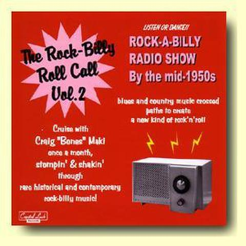 【THE ROCK-BILLY ROLL CALL VOL.2】CDR V.A