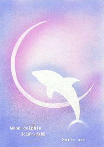 moon dolphin 未知への旅 はがき