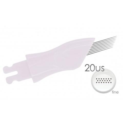 新商品 Ⅱ型手彫り20本平針 10個入り