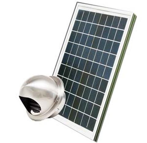 ドーム型100ソーラー換気扇ユニット