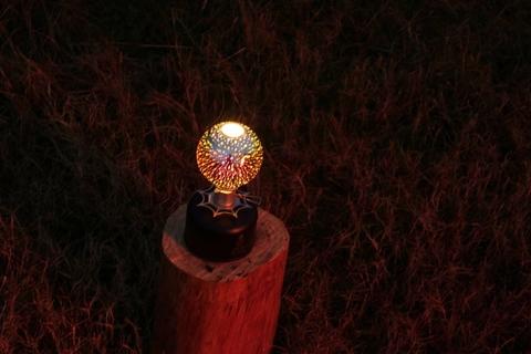 Glass grove snow ball 3D