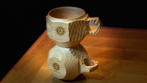 MOUNTAIN CUPー凪ーサイドロゴorボトムロゴ