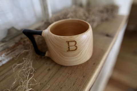 R- lable Bond mug 黒みみ no.004