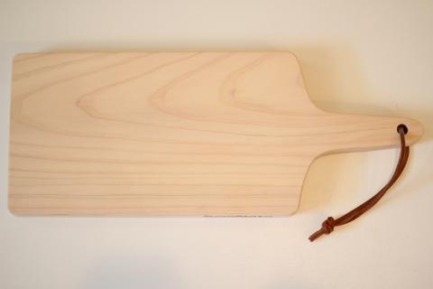 グルメボード 17㍉ (プレーン) 革紐付き