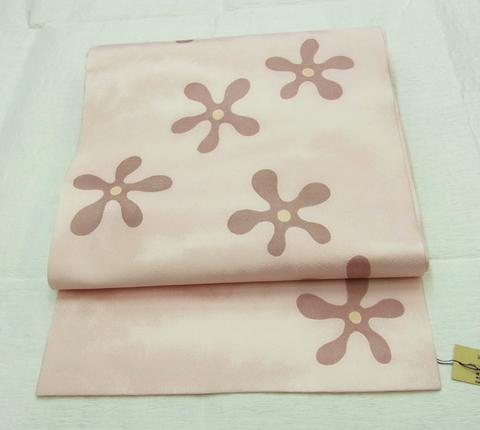 正絹名古屋帯「花花」