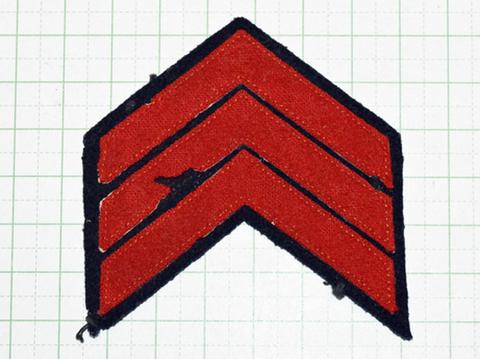 海軍善行章 3線冬衣用