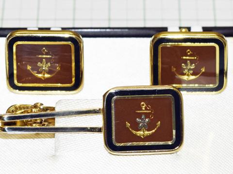 海軍 タイピンカフス
