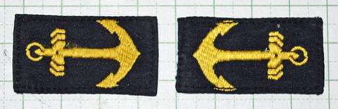 海軍襟章 陸戦隊下士官