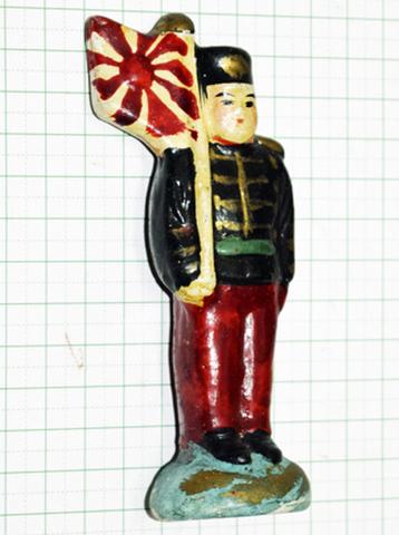 土人形 明治騎兵