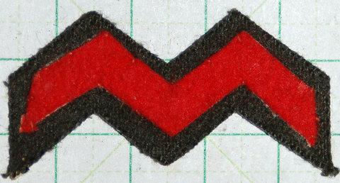 陸軍98式胸章歩兵科 兵下士官用