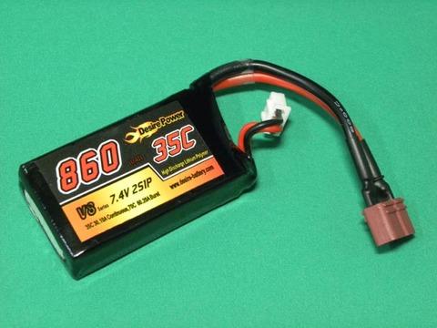 Desire power-V87.4V-860mA-35c