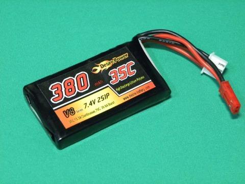 Desire power-V8 7.4V-380mA-35c