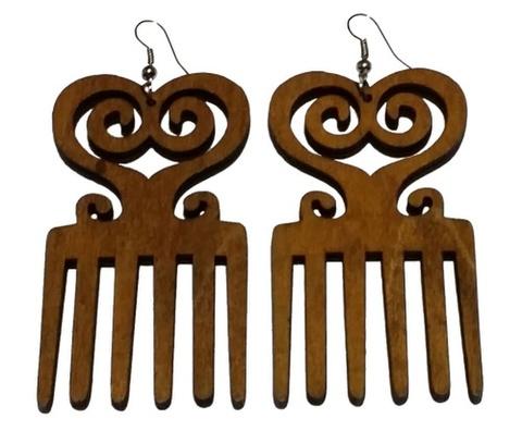 Africanシンボル ピアス