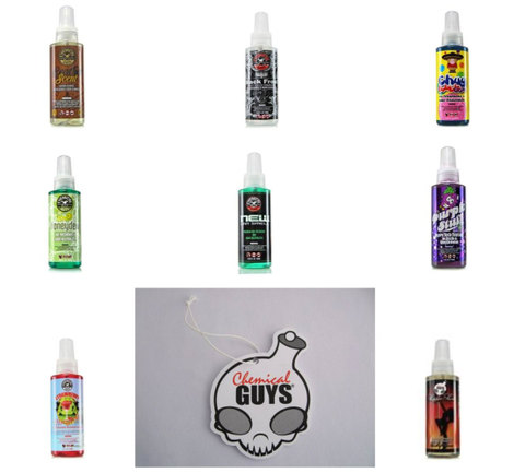 Chemical Guys Air Freshnner 8pack+Bord