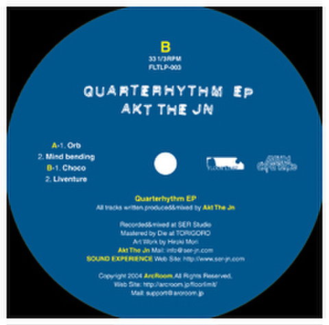 Quarterhythm EP(12inch)/AKT THE JN