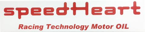 スピードハート ステッカー 反射板タイプ(レッド) SH-R30