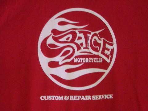 Logo T-シャツ Red