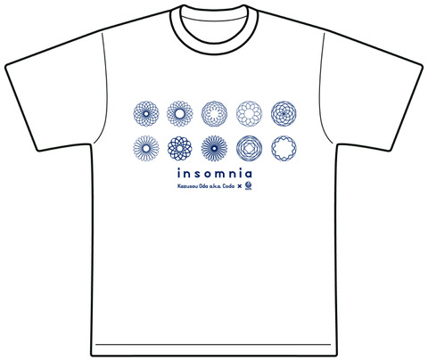 insomnia Tee (White)