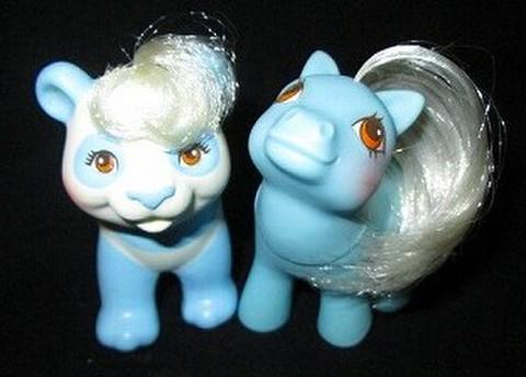 80's★My Little Pony★マイリトルポニー★baby & cute pal★パンダ