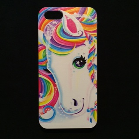 Lisa Frank★iPhone5ケース★iPhone5,iPhone5C,iPhone5S対応★ポニー★馬★ハードケース