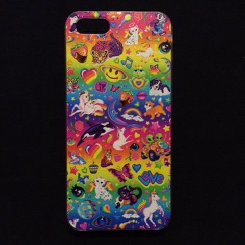 Lisa Frank★iPhone5ケース★iPhone5,iPhone5C,iPhone5S対応★総柄