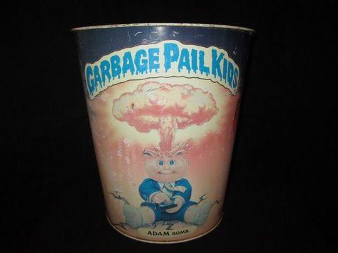 1986年★GARBAGE PAIL KIDS★ガベッジペイルキッズ★ぶきみくん★Trush Box★ゴミ箱