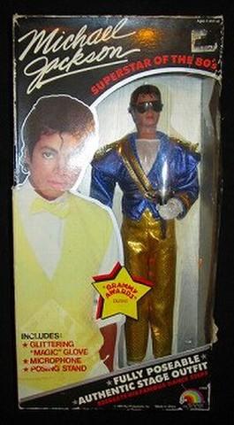 1984年★MichaelJackson★マイケルジャクソン★グラミー賞★フィギュア