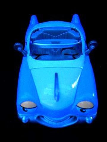 CHEVRON CAR●シェブロンカー(青)