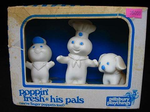 DoughBoy●指人形セット●'74