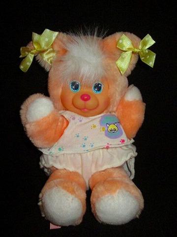 90年代のMattelの可愛い人形♪90's★マジックナーサリー★Magic Nursery★ピーチ キティ★ぬいぐるみ★