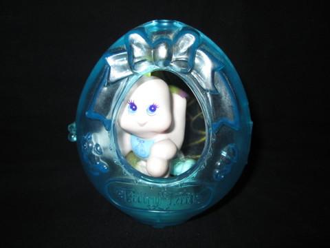 80's★Fairy Tails★フェアリーテール★HASBRO★ベイビー★Baby★卵にはいったベイ ビー★フィギュア★人形★ブルー