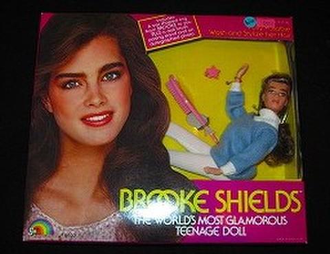1982年★ブルック・シールズのフィギュア人形★