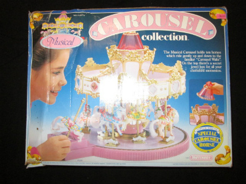80's★1989年★カルーセルコレクション★ミュージカルメリーゴーランド ★MATCHBOX★オルゴール