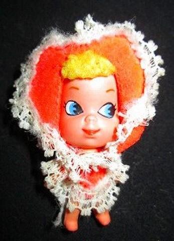 1968年★ビンテージ★リッドルキッドル★バレンタイン★ハートの女の子
