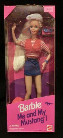 1994年★Barbie★Me and My Mustang★バービー★ミーアンドマイマスタング★人形★フィギュア