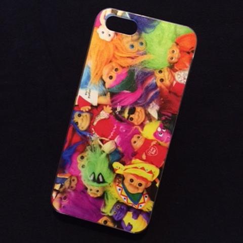 可愛いトロールのアイフォンケースです♪TROLL★TROLLS★iPhone5ケース★iPhone5,iPhone5C,iPhone5S対応★人形★フィギュア★