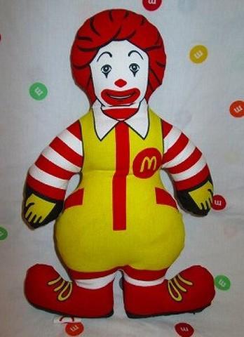 1983年★ビンテージ★マクドナルド★ドナルド★ラグドール