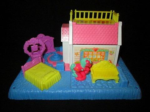 80's★My Little Pony★マイリトルポニー★プチポニー★お家★プレイセット