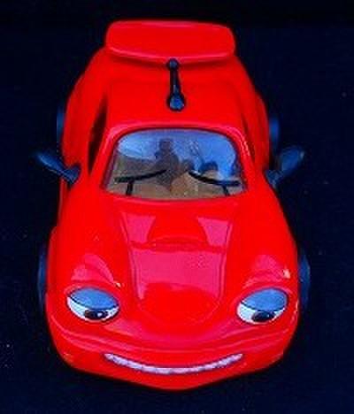 CHEVRON CAR●シェブロンカー(赤)