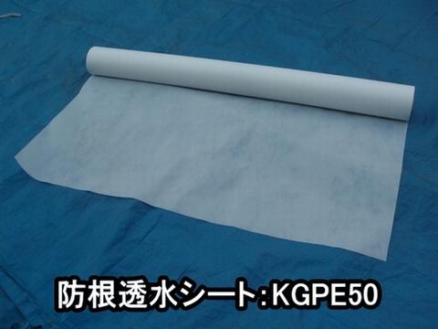 防根透水シートKGPE50:50cm×100m巻