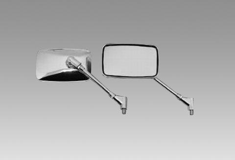 ジャイロUP用メッキワイドミラー(左右セット)品番330