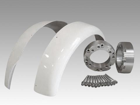 ジャイロキャノピー・ジャイロX スペーサー40mm&フェンダーセット品番182