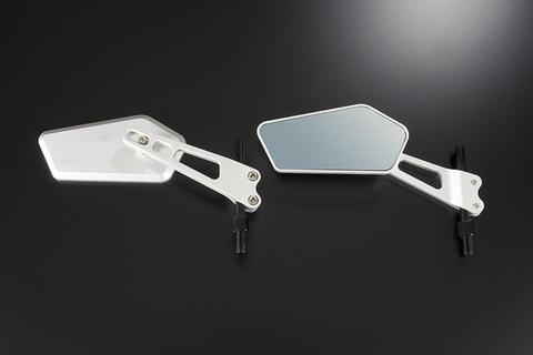 ジャイロX ジャイロUP用ビレッドミラー(左右セット)品番405