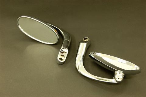 ジャイロX用カスタムバレンミラー(左右セット)品番221