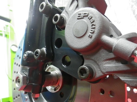J1/2用Z4穴ホイール296mm用CP2696サポートKIT